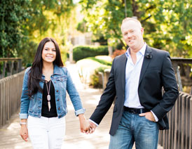 Chiropractor Jason Black and Wife